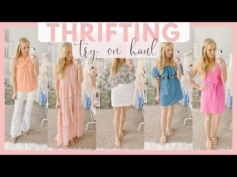 j-crew,-loft,-forever21-consignment-haul-|-thrifting-try-on-haul-summer-clothing-2019-|-amanda-john