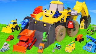 Bob the Builder Toys: Excavator, Truck, Bulldozer, Tractor, Cars & Crane Toy Vehicles for Kids