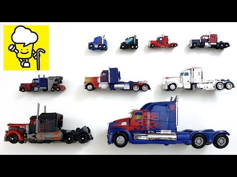 Optimus Prime transformer Movie toy トランスフォーマー 變形金剛 Truck | stop motion for kids
