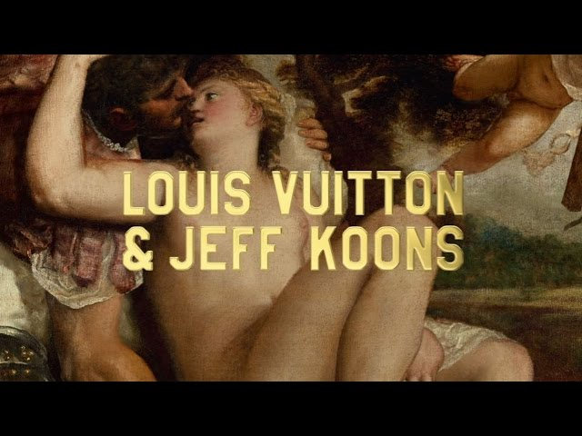Louis Vuitton - Masters, a collaboration with Jeff Koons