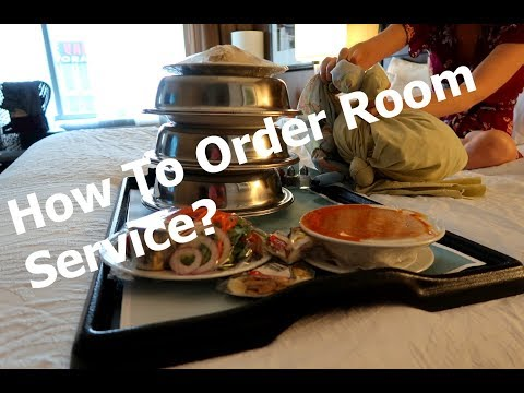 How To Order Room Service (At the Hilton Garden Inn, Seattle WA)
