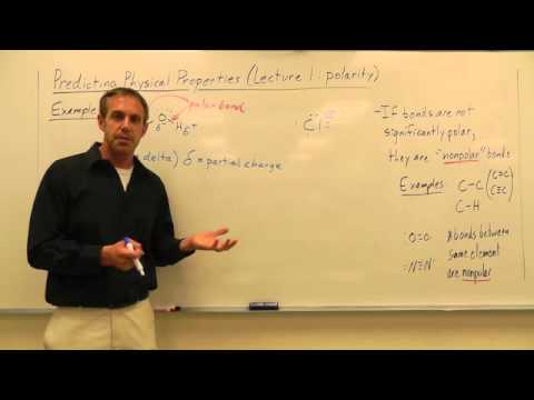 Physical Properties Lecture 1