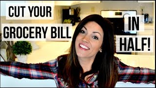10 TIPS TO CUT YOUR GROCERY BILL IN HALF // One Income Family // Los Angeles Living //10 Tips!