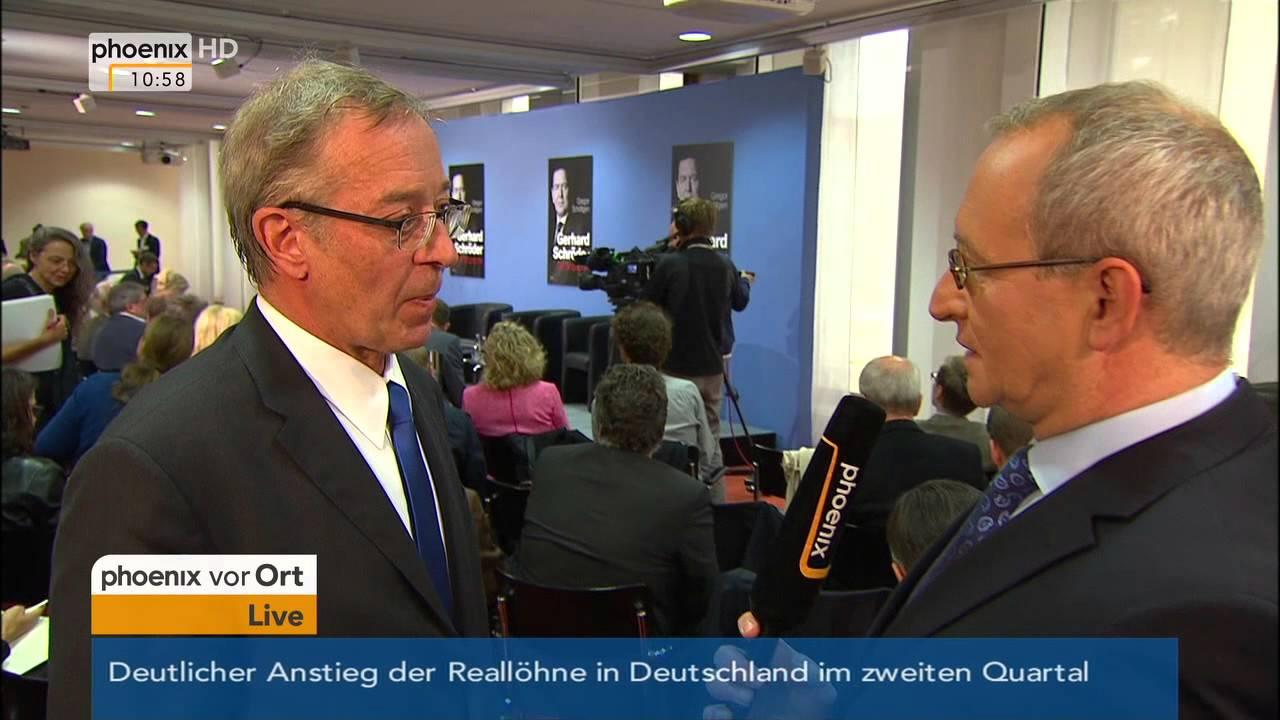 gerhard schrder vorstellung der biografie des altkanzlers am 22092015 - Gerhard Schrder Lebenslauf