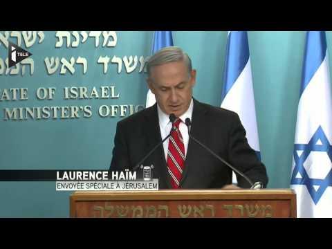"""Netanyahu : Gaza, une opération """"justifiée"""" et """"proportionnée"""""""