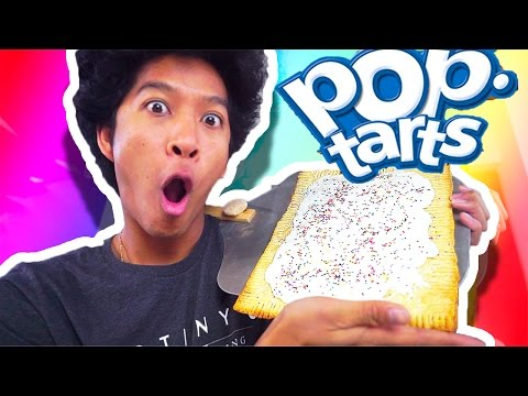 Thumbnail: GIANT POPTART!!! DIY HOW TO MAKE!!
