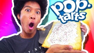 GIANT POPTART!!! DIY HOW TO MAKE!!