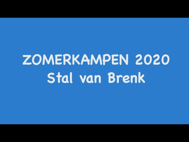 Instructievideo zomerkamp 2020
