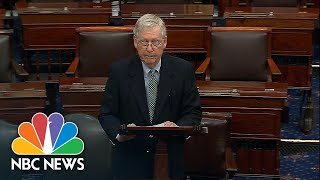 McConnell Calls Democrats' Coronąvirus Relief Bill 'An Ideological Wish List' | NBC News