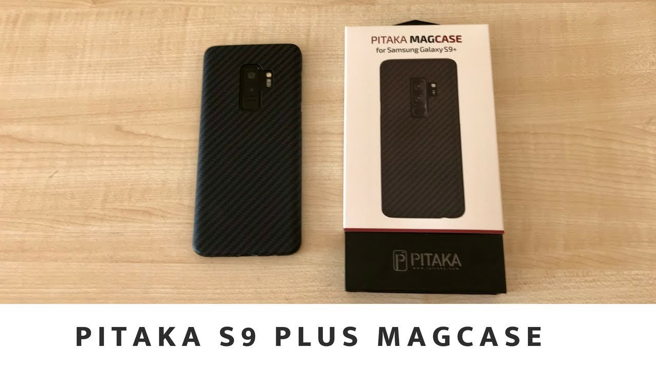 brand new a281a a4760 Pitaka MagCase Samsung Galaxy S9 Plus Unboxing