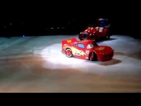 "Disney On Ice ""Worlds Of Fantasy"" Cars Intro"