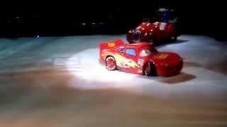 "Disney On Ice ""Worlds Of Fantasy"" Cars Intro"