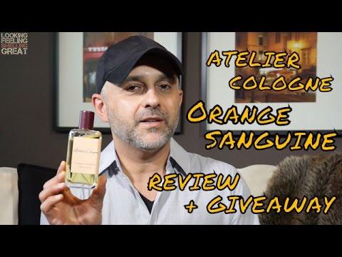 Atelier Cologne Orange Sanguine Review + 3-30ml Bottle Giveaway CLOSED
