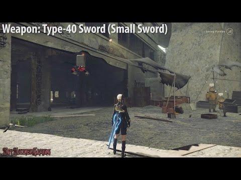 NieR Automata - All Weapons Showcase [1080p60]
