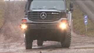 Mercedes Benz Zetros 4x4 6x6