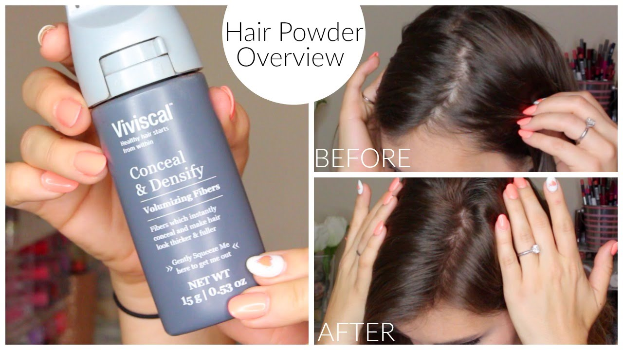 hair fibers & powders for thin + fine hair | bailey b. - youtube