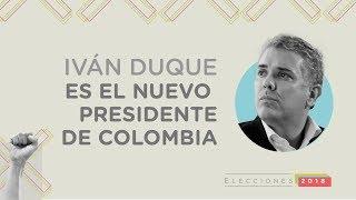 Iván Duque: así fue su histórico triunfo en las elecciones presidenciales | El Espectador