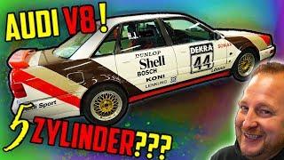 Wir bauen einen 5Zylinder 20V TURBO! - Audi V8
