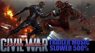 Dean Valentine - Sharks Don't Sleep (Captain America: Civil War Trailer Music) Slowed 500%