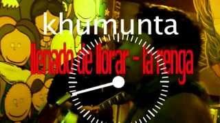 llenado de llorar - la Renga - khumunta (cover) contra informa 2013