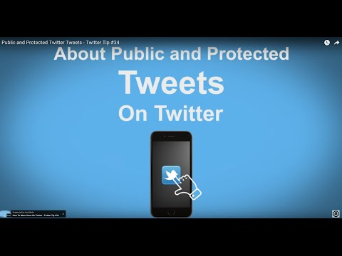 Protected Tweets in Elementary Classroom from YouTube · Duration:  2 minutes 1 seconds
