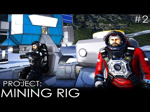 Space Engineers - Mining Survey Team - The Wronging of the BattleToad