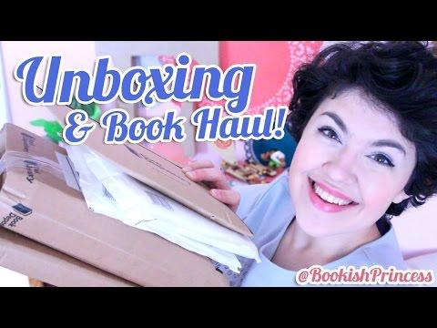 BOOK HAUL & UNBOXING | BookishPrincess