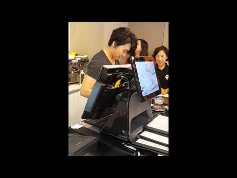 [FANCAM] 14.09.22 - Sungmin at Wiki Cafe