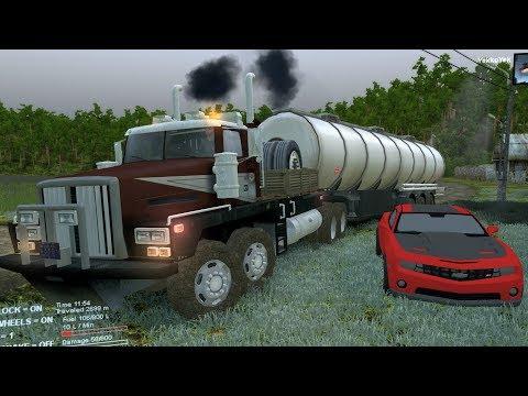 Western Star 6900 8x8 | Transportando Combustible en caminos offroad