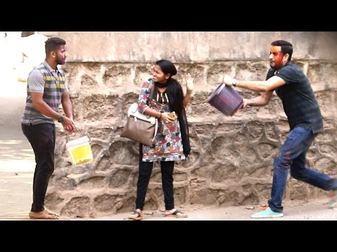 Best HOLI Prank Of 2017 – Don't Miss The End – Baap Of Bakchod – Raj & Sid