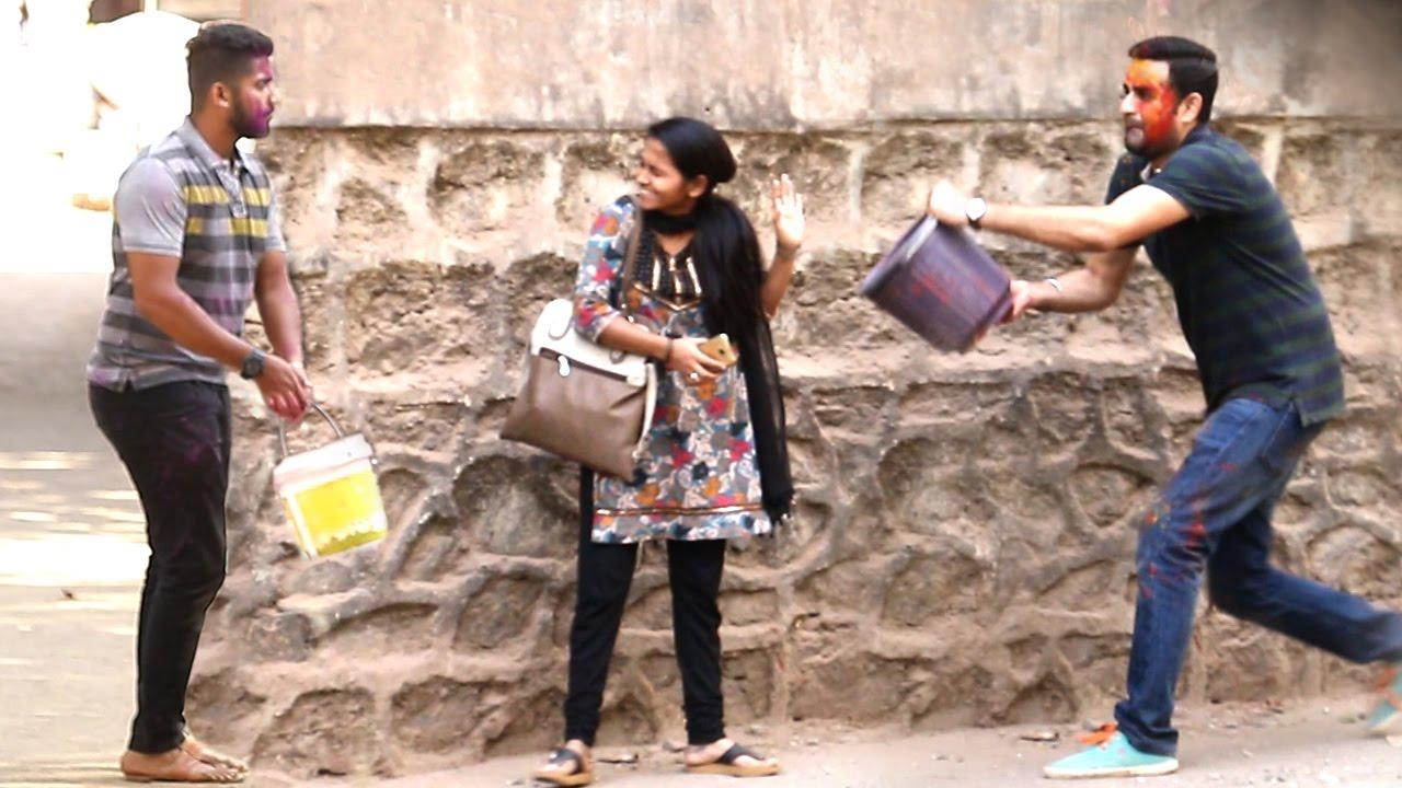 Best HOLI Prank Of 2017 - Don't Miss The End - Baap Of Bakchod - Raj & Sid