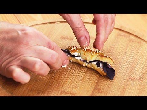 Как заворачивать круассаны пошаговое приготовление блюда
