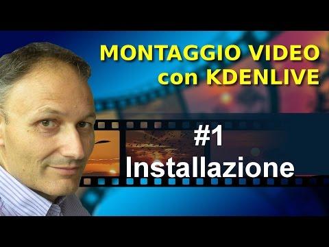# 1 Fare video editing con Kdenlive: installazione - Corso computer Associazione Maggiolina