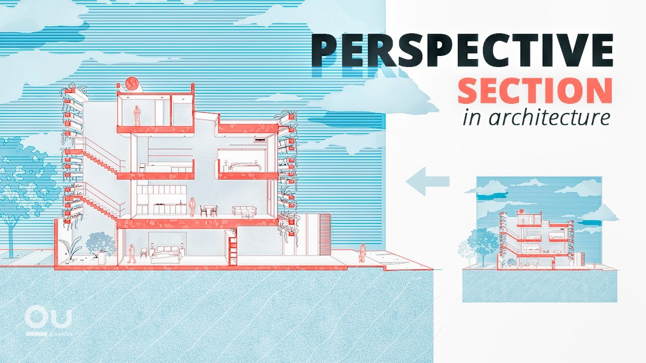 Download Perspective Section in Architecture: The Best Workflow