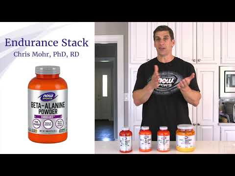 Customized Endurance Sports Nutrition Stack | Dr. Chris Mohr for NOW