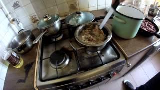 Ем суп фляки по Варшавски