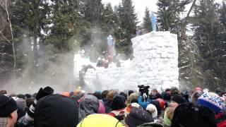 Бакшевская Масленица 2013 - Взятие крепости медведя 5