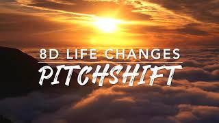 8D Life Changes — Thomas Rhett | PitchShift