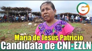 María de Jesús Patricio, candidata de CNI-EZLN a la Presidencia de México