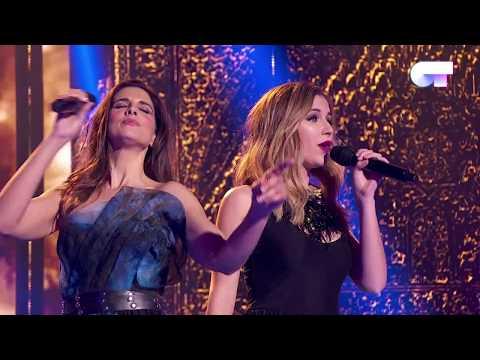 NOCHES DE BOHEMIA - Mireya y Nuria Fergó | OT 2017 | Gala Navidad