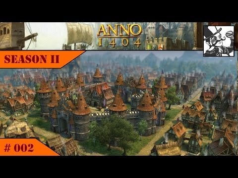 Anno 1404 - Venice: Season II #002 Starting to build a fortress city!