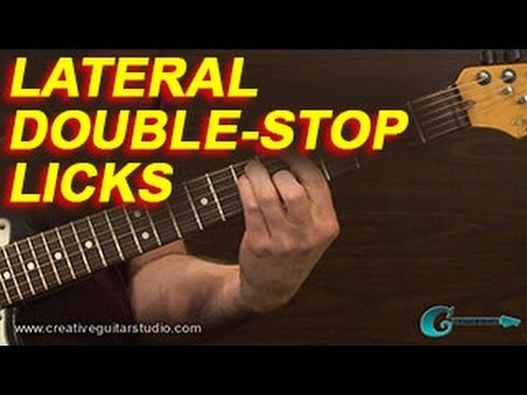 GUITAR THEORY: Lateral Double-Stop Licks