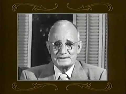 Napoleon Hill talks about his meeting with Andrew Carnegie  WWW.GOODNEWS.WS