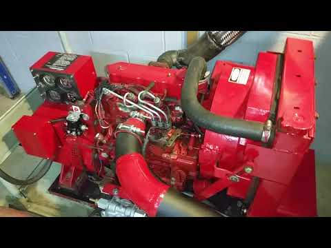 FOR SALE Westerbeke deisel engine with 6k generator WASTE OIL READY!- 5 minutes running