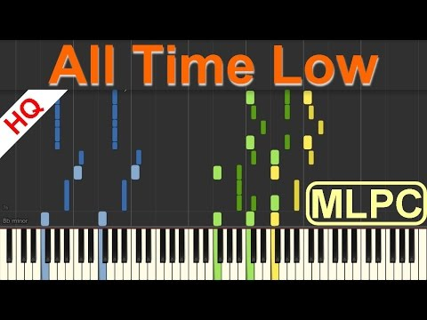 Jon Bellion - All Time Low I Piano Tutorial & Sheets by MLPC