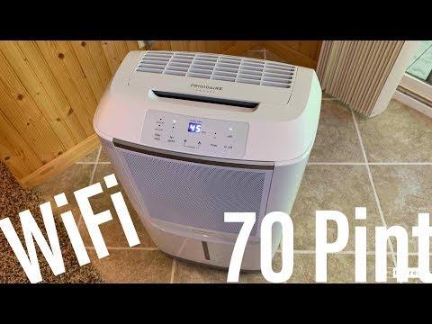 Frigidaire: 70 Pint WiFi Dehumidifier Review