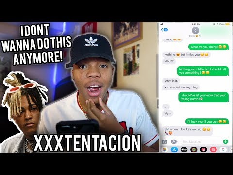 "XXXTENTACION - ""I Don't Wanna Do This Anymore"" LYRIC PRANK ON MY CRUSH *GONE RIGHT* She Coming Over"