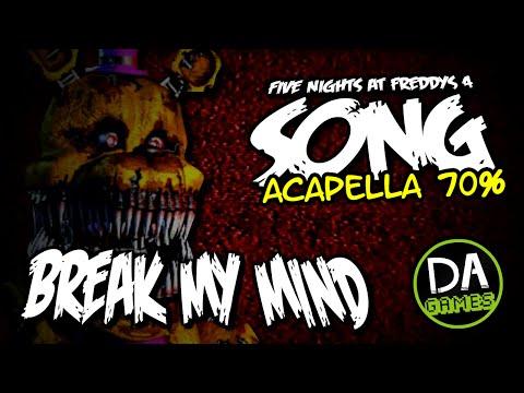 [Acapella 70% / ♫] DAGames - BREAK MY MIND [Only Vocal]