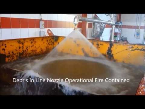 Fire Sprinkler Nozzle Test V's RigDeluge FFNT Part 03 Results Sprinkler Nozzle - Rig Cooling.wmv
