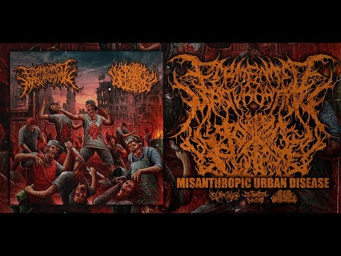 FERMENTED MASTURBATION/PIT OF TOXIC SLIME-MISANTHROPIC URBAN DISEASE [OFFICIALSTREAM] (2016) SW EXCL